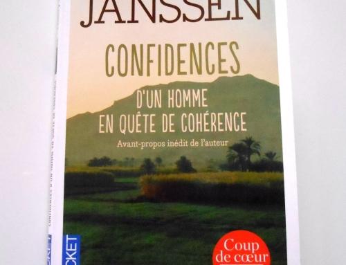 J'ai lu «Confidences d'un homme en quête de cohérence» de Thierry Janssen
