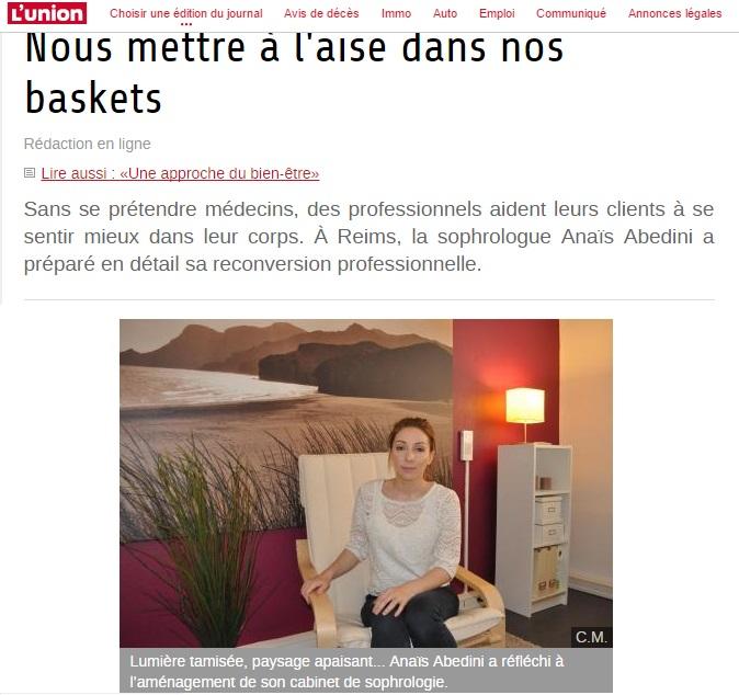Article publié sur le site de l'Union l'Ardennais